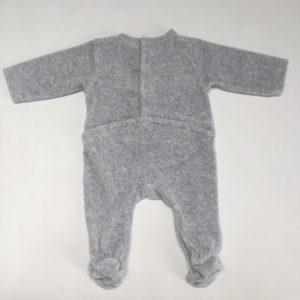 Pyjama velours ezel grijs Noukie's 56