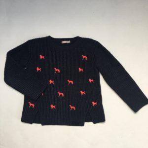 Sweater dogs knitwear Billieblush 114