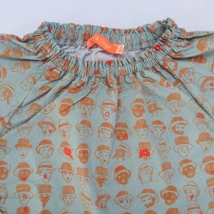 Blouse faces Fred & Ginger 4 jr