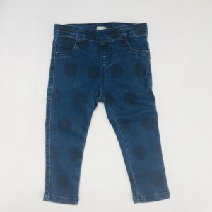 Jeansbroek bolletjes Zara 2/3 jaar