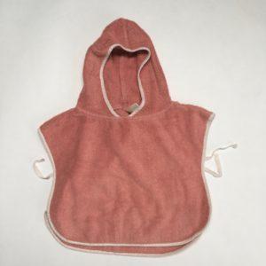 Baby badponcho pink Koeka