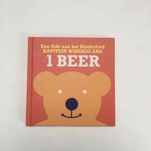 Boekje + cd een beer Ode aan het kinderlied Kapitein Winokio