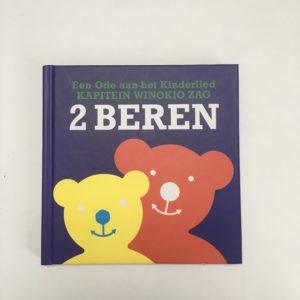 Boekje + cd twee beren Ode aan het kinderlied Kapitein Winokio