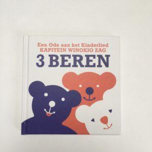 Boekje + cd  Drie beren Ode aan het kinderlied Kapitein Winokio