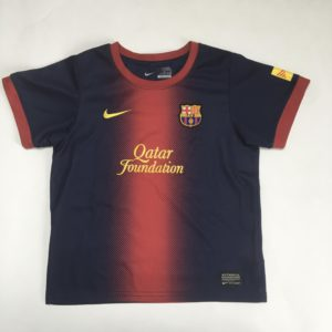 Voetbalshirt Barcelona  Qatar Foundation 6-7jr
