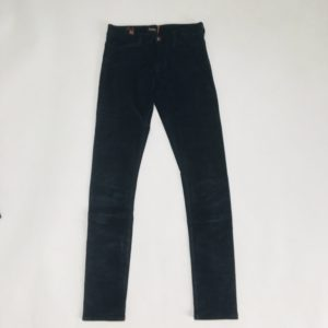 Donkerblauwe jegging velvet Notify 10 jr