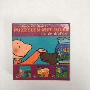 Puzzelen met Jules en de dieren Zwijsen