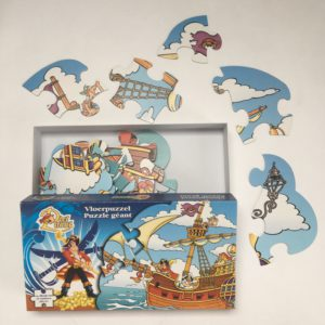 Vloerpuzzel Piet Piraat