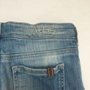 Lichtblauwe jeans straight cut Notify 7jr