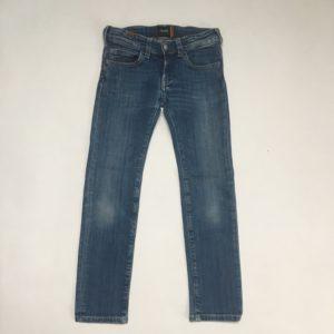 Donkerblauwe jeans straight cut Notify 7jr