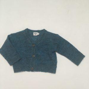 Gilet knitwear blauw Feliz by Filou 3m