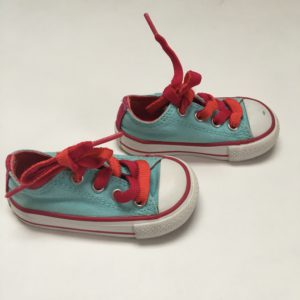 Allstars blauw/rood Converse maat 20