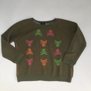 Sweater skulls My Brand junior 12-14 jr