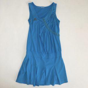 Tenniskleedje blauw Adidas 10jr