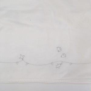 Jasje wit omslag Petit Bateau 3m