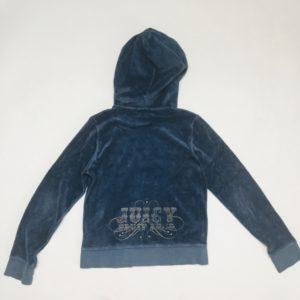 Hoodie velours blauw Juicy Couture 10 jr