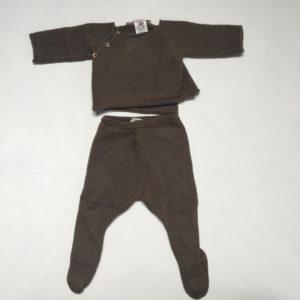 Setje knitwear bruin Bonpoint 3m