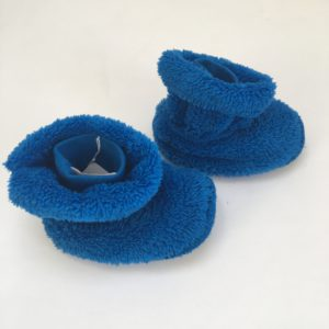 Pantoffels blauw Woody 12-24m