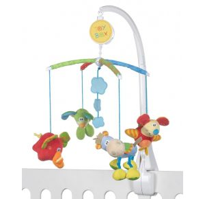 Muziekmobiel Toy box