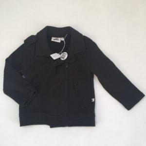 Biker jacket met pin Happy Human Kind Cos I said so 92/98