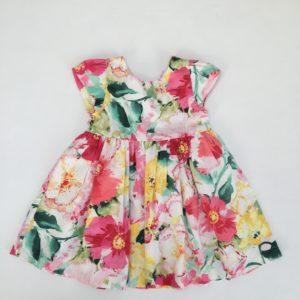 Bloemenkleedje shortsleeve Ralph Lauren 6m / 68