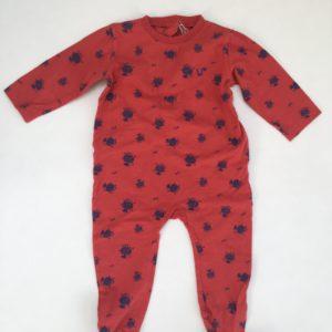 Pyjama  met voetjes bijen Woody 12m / 80