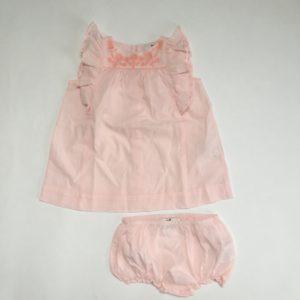 Kleedje roze frills Cyrillus 9m / 74
