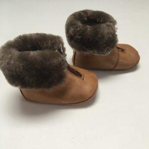 Gewatteerde winterschoentjes met rits vooraan Tricati maat 17