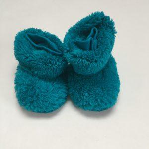 Pantoffels blauw Woody 0-6m