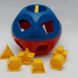 Shape-o-toy Tupperware vormenbal