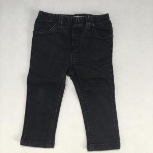 Donkere jeans met rekker  P'tit Filou 12m