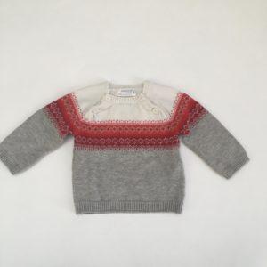 Kersttrui knitwear Mayoral 2-4m