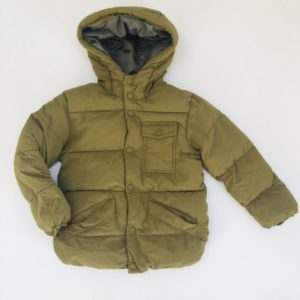Gevoerde winterjas kaki Zara 3-4 jr / 104