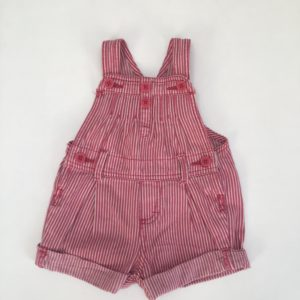Salopette pink stripes Oshkosh 12m / 80