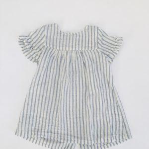 Kleedje blue stripes P'tit Filou 12m / 80