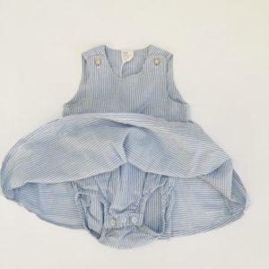 Romperkleedje sleeveless blue stripes H&M 3-6m / 68
