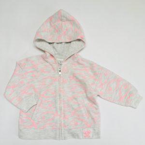 Hoodie pink fish Zara 3-6m / 68