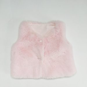 Bolero faux fur pink First 62