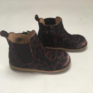 Enkelbotjes chelsea boot bordeaux brown Angulus maat 24