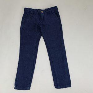 Defitge broek donkerblauw Blue Bay party 116