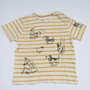 T-shirt dogs Zara 2-3 jr / 98