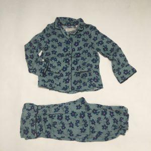 Pyjama bloemetjes Zara 2-3 jr / 98