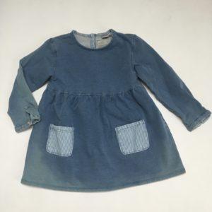 Denim kleedje Zara 2-3 jr / 98