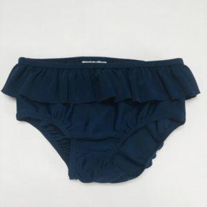 Zwembroekje frill donkerblauw H&M 98/104