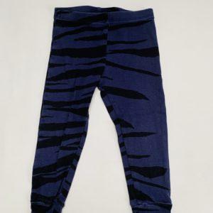 Broekje zebra stripes donker Mini Rodini 80/86