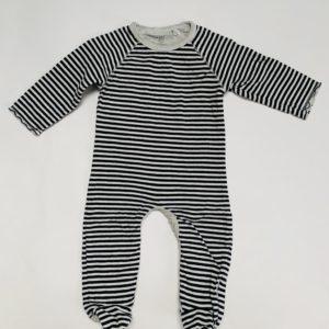 Boxpakje met voetjes stripes Noppies baby 2-4m / 62