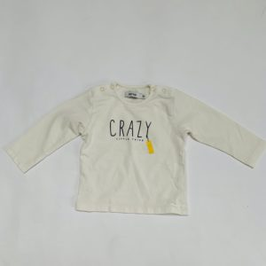 Longsleeve Crazy little thing Baby Filou 6m