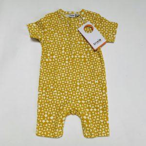 Boxpakje shortsleeve geometric mustard Trixie 3-6m / 62/68