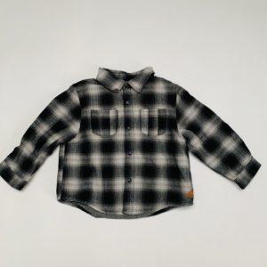 Gevoerd hemd ruit Zara 12-18m / 86