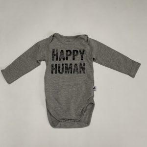Romper longsleeve Happy Human Cos I said so 50/56